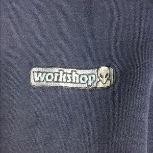 Vtg 90's Alien Workshop Hoodie 👽 Sk8 Culture